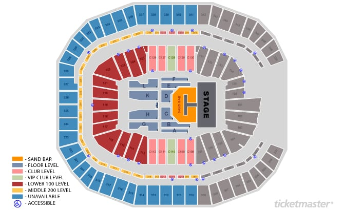 Seating charts mercedes benz stadium for Hotel near mercedes benz stadium atlanta